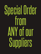 Special Orders?